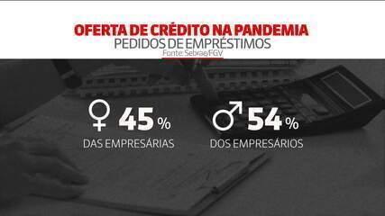 Perfil dos empreendedores no Brasil: 6 em cada 10 empresários não conseguiram crédito