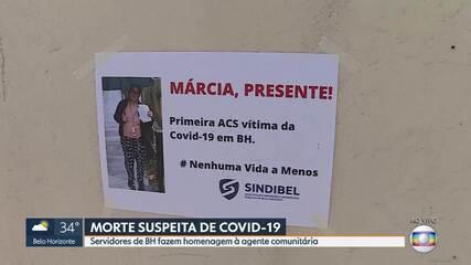 Agente comunitária de saúde morre com suspeita de covid-19