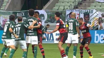 Confira um resumo da semana turbulenta que antecedeu Palmeiras x Flamengo pelo Brasileirão