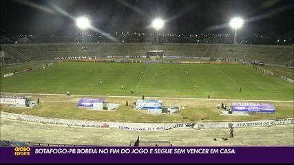 Botafogo-PB empata mais, agora contra o Paysandu, na Série C