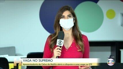 Aposentadoria do ministro Celso de Mello abre corrida por vaga no STF