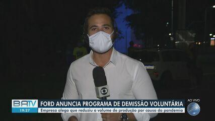 Ford anuncia programa de Demissão Voluntária para trabalhadores que atuam na Bahia