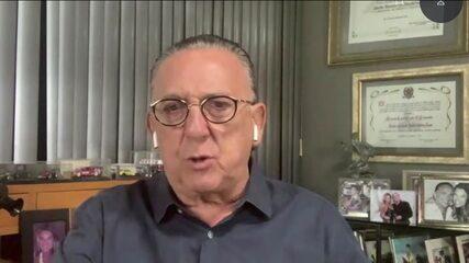 Galvão comenta confusão dos bastidores de Palmeiras x Flamengo