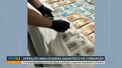Operação mira esquema gigantesco de corrupção na área da saúde