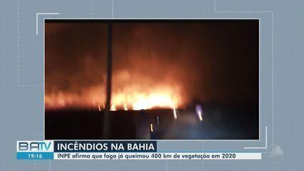 Incêndio florestal já dura 15 dias em municípios na região oeste da Bahia
