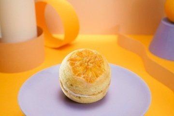 Bolinho invertido de laranja