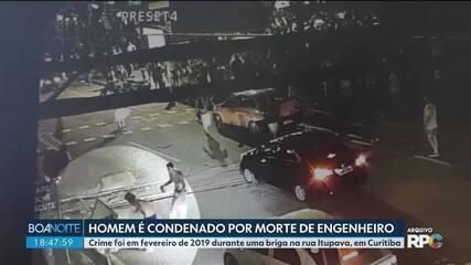 Homem é condenado por morte de engenheiro em Curitiba