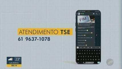 Eleições 2020: TSE oferece serviço para esclarecer via WhatsApp dúvidas sobre votação