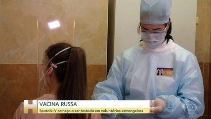 Vacina russa começa testes em Belarus