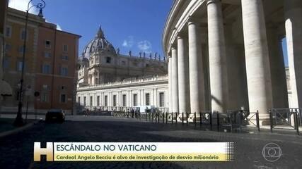Escândalo envolvendo cardeal no Vaticano