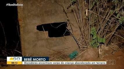 Moradores encontram corpo de bebê em mata de Aparecida de Goiânia