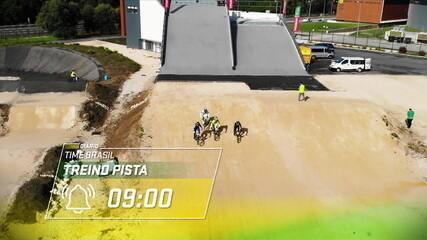 Diário do Time Brasil em Portugal: Renato Rezende mostra preparação no Ciclismo