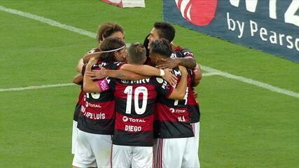 Melhores momentos: Flamengo 3 x 0 Sport, pela 14ª rodada do Brasileirão