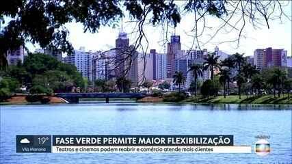 Regiões paulistas vão para a fase verde do plano de flexibilização