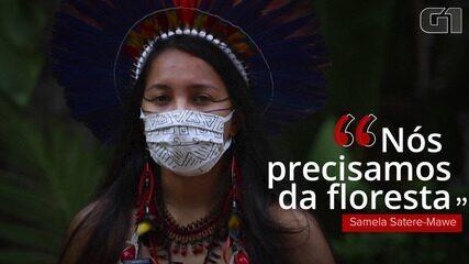Jovem indígena entra para movimento da Greta Thunberg contra mudanças do clima