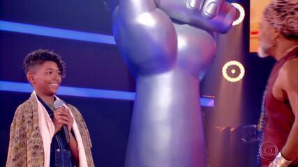 Confira a trajetória de Kauê Penna no 'The Voice Kids'