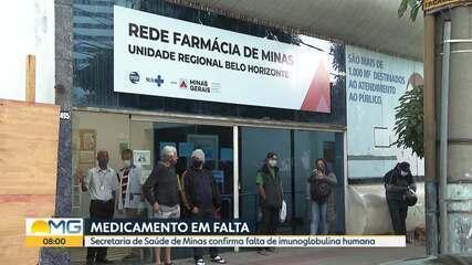 Pacientes reclamam de falta de imunoglobulina humana