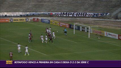 Botafogo-PB bate o Ferroviário e volta a vencer pela Série C