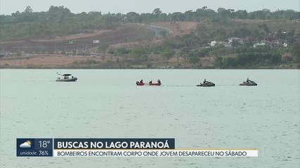 Bombeiros encontram corpo no Lago Paranoá
