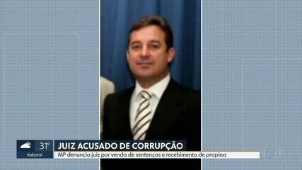 Juiz é denunciado por Ministério Público por venda de sentenças e recebimento de propina