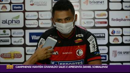 Campinense apresenta Daniel Sobralense
