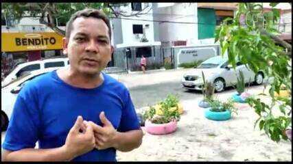 Mercedes Levy denuncia descarte irregular de lixo na avenida Marques de Herval, em Belém