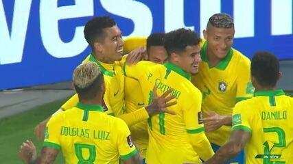 Melhores momentos: Peru 2 x 4 Brasil, pela 2ª rodada das Eliminatórias