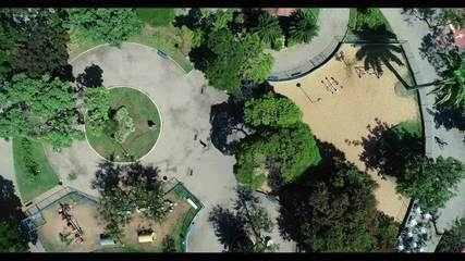 Entre os atrativos de Jardim da Penha estão as pracinhas como espaços de lazer