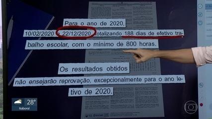Estado publica resolução que define aprovação de alunos em 2020