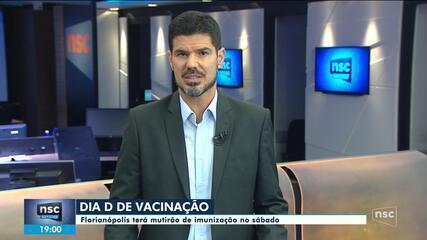 Florianópolis terá dia D de vacinação no próximo sábado