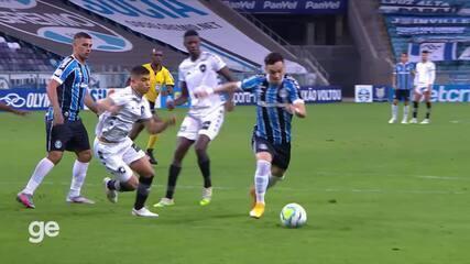 Melhores momentos de Grêmio 3 x 1 Botafogo pela 16ª rodada do Brasileirão 2020