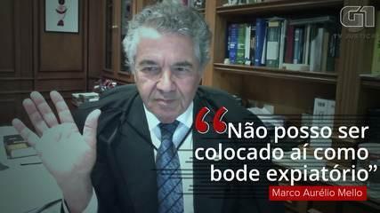 """Ministro Marco Aurélio Mello: """"Se alguém falhou, não fui eu"""""""