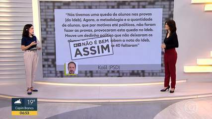 Fato ou Fake comenta, nesta sexta (16), declaração do candidato a prefeito Alexandre Kalil