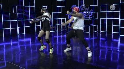 Veja o ensaio completo de Danielle Winits no funk do 'Dança dos Famosos'
