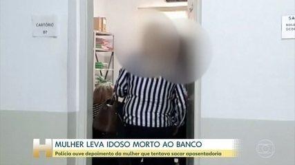 Exame indica que idoso foi levado morto para agência bancária, em Campinas (SP)