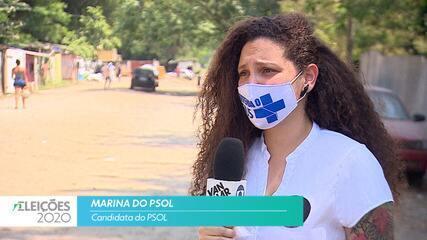Candidata Marina do PSOL (PSOL) fala sobre empregos para cidade de São José