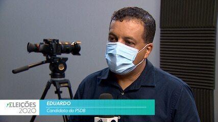 Candidato Eduardo (PSDB) fala sobre a saúde para cidade de Taubaté