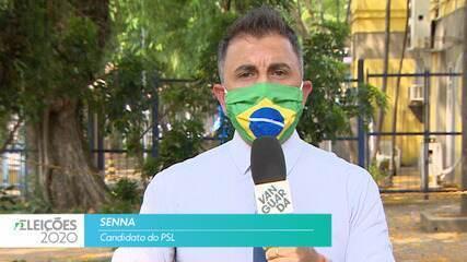 Candidato Senna (PSL) fala sobre empregos para cidade de São José