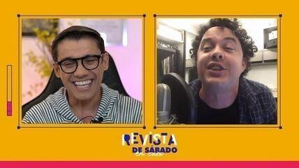 Assista na íntegra o bate papo entre Gui Santana e Marcos Paiva
