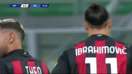Melhores momentos de Internazionale 1 x 2 Milan pelo Campeonato Italiano