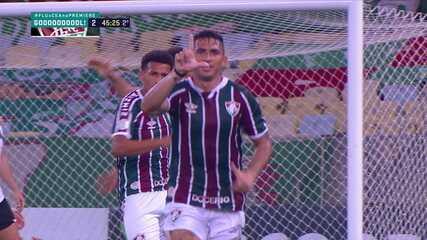 Danilo Barcelos tem um gol pelo Fluminense no ano passado