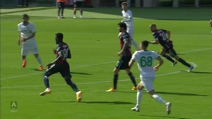 Bologna 3 x 4 Sassuolo pelo Campeonato Italiano