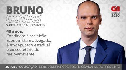 Bruno Covas é o candidato do PSDB a prefeito de SP nas eleições de 2020