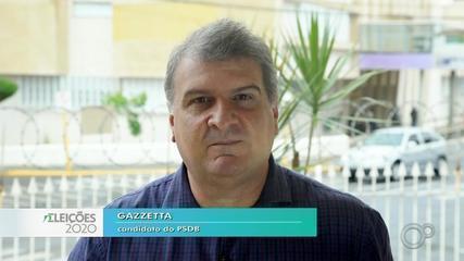 Candidato Gazzetta fala sobre as propostas para a saúde em Bauru