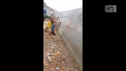 Vídeo mostra confusão em presídio de Carirí