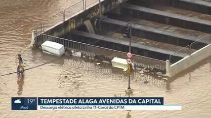 Chuva volta a causar transtornos em várias regiões de São Paulo