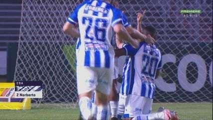 Melhores momentos de CSA 1 x 0 Botafogo-SP, pela 17ª rodada da Série B do Brasileirão