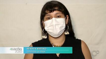 Candidata Renata Ribeiro fala sobre as propostas para a saúde em Bauru