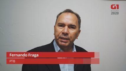 Fernando Fraga fala de suas propostas para a geração de emprego em Araraquara