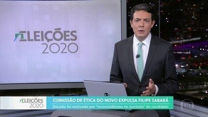 Comissão de Ética do Novo expulsa Filipe Sabará
